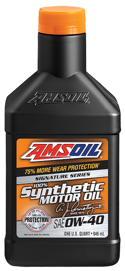 SAE 0W-40 Signature Series 100% Synthetic Motor Oil (AZF)