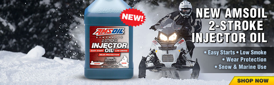 Synthetic 2-Stroke Injector Oil (AIO)